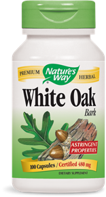 White Oak Bark 100 Capsules - Product Image