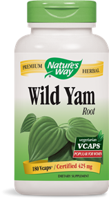 Wild Yam Root 180 Vcaps - Product Image