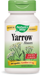 Yarrow Flowers 100 Capsules - Product Image